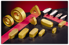 德国SAAR进口硬质合金银亮材棒材剥皮机无心车床合金刀片