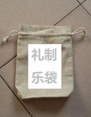 棉布拉绳袋
