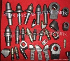 挖溝機刀頭&齒座(C31HD,RL07,C24)