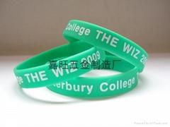 silicone bracelet