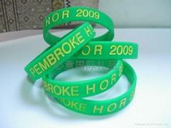 silcone wristbands