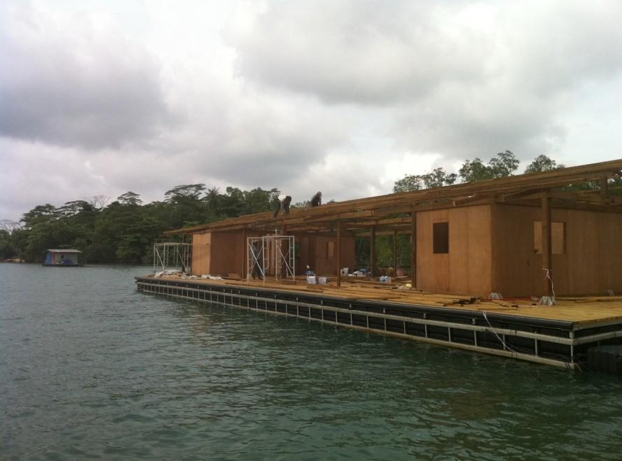 Floating House Acr10 Acrdock China Manufacturer