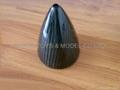 """carbon fiber spinner 4 """"—7 """""""