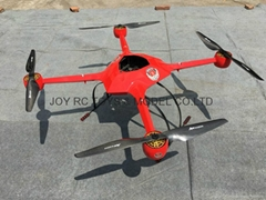 Industry 4 rotors, super light multirotors 1280mm