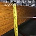 不鏽鋼木紋方管 1