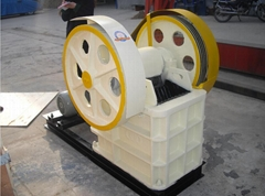PE250x400 rock crusher  stone jaw crusher with diesel engine