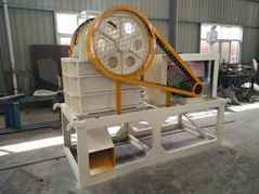 PE200x300 small  stone jaw crusher for laboratory with diesel engine