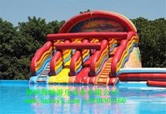 水上樂園設備水上滑梯樂園廠家免費設計