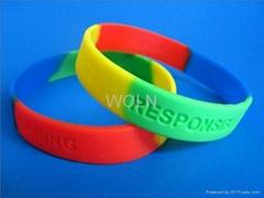 Fashion Bracelet(ISO9001:2000/SGS Report/ OEM Silicone Bracelet Gift Bracelet)