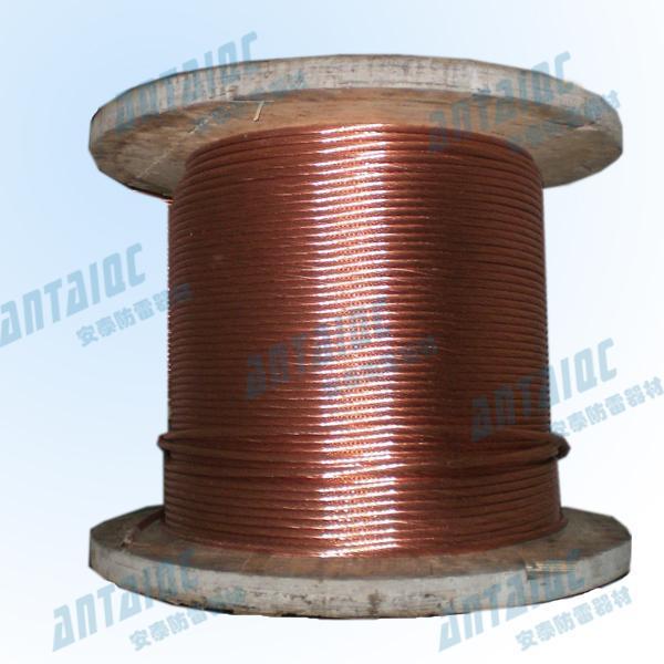 銅包鋼接地絞線 1