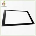 Custom Anti-Glare Glass Panel used onto Electronics Touch screen  3
