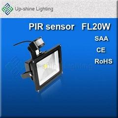 New PIR sensor 30W inductive led floodlight led projector