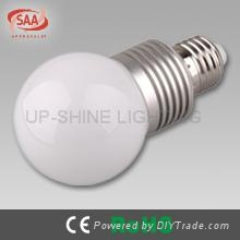 4W high lumens dimmable sharp LED lamp bulb
