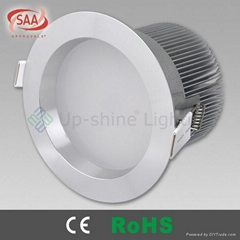 15W SMD fixed led ceiling light downlight