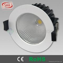 10W COB SAA LED downlight