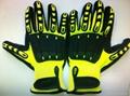 TPR anti-impact mechanic glove 1