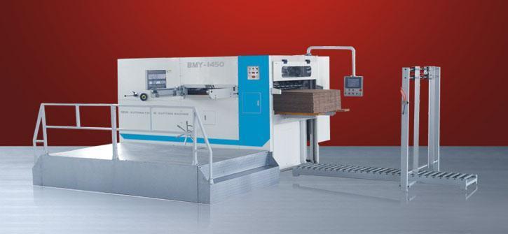 semi-automatic die cutting and creasing machine 1