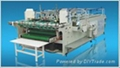 Folder gluer machine for locking bottom