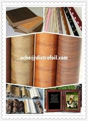 Hot stamp foil for PVC