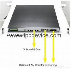 1U firewall hardware chassis IEC-514SC