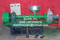 Float fish feed pellet machine