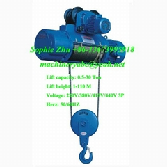 Wire Rope Electric Hoist Electric Wire