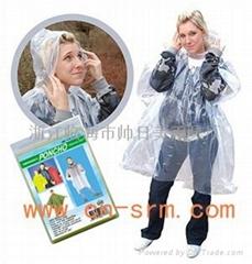 一次性雨披,應急雨披,塑料雨披,PE雨披,PEVA雨披
