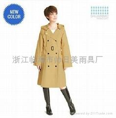 时尚EVA雨衣