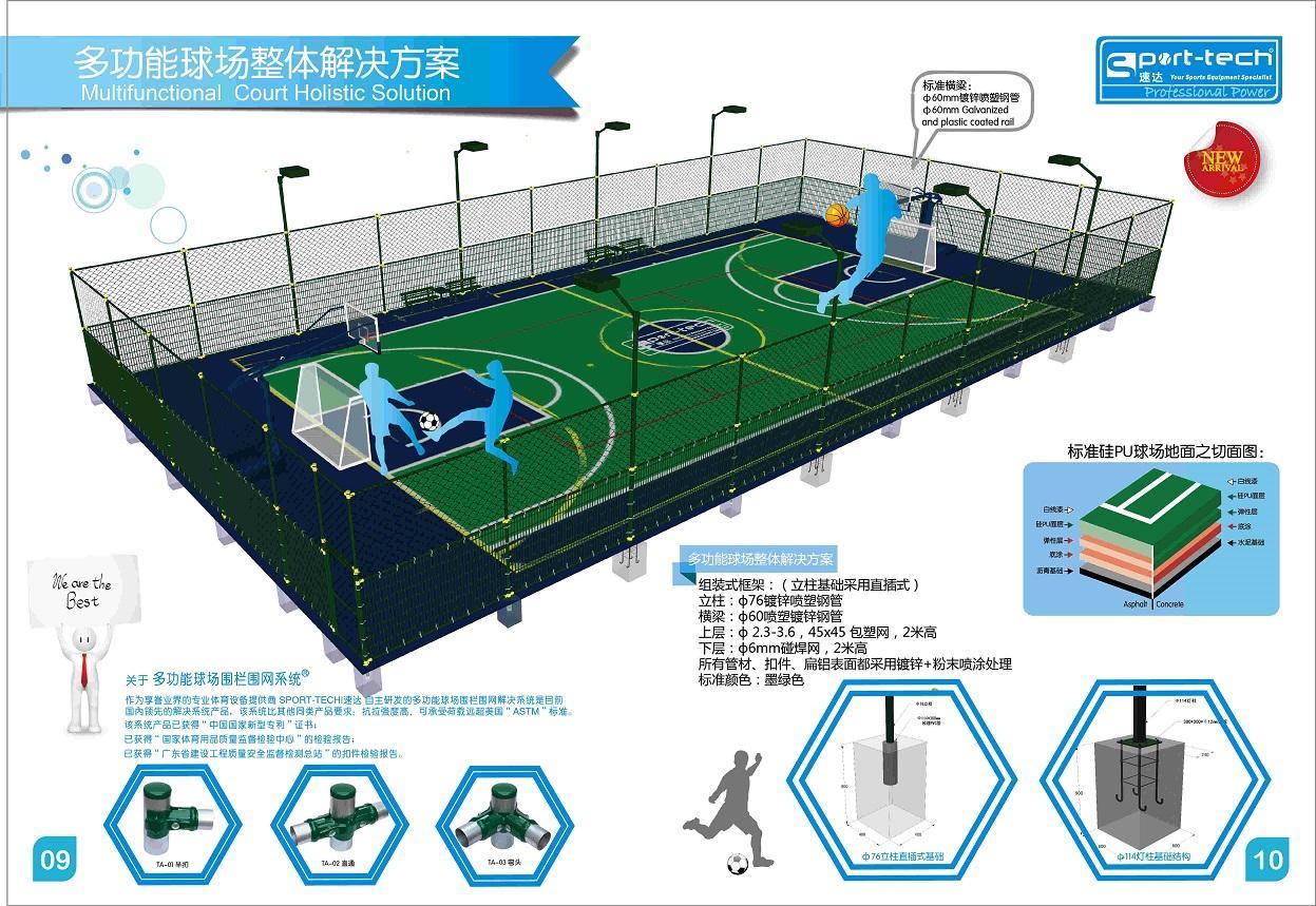 籃球場圍網 1