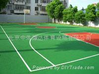 濟南塑膠網球場建造