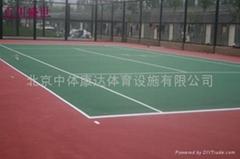 塑胶篮球场改造施工