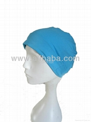 High quality Bamboo Cotton Women Hair loss women skull cap beanie