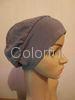 Competitve Colorful women Headwear Knitted elasticity wig headgear