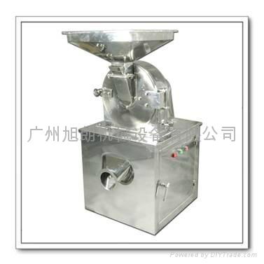 食品香料加工不锈钢涡轮粉碎机 1