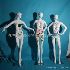 深圳女装模特道具