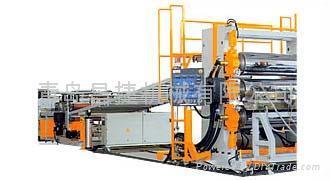 供應PVC結皮發泡板生產線 1