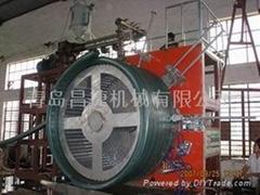供应大口径中空壁缠绕管生产设备