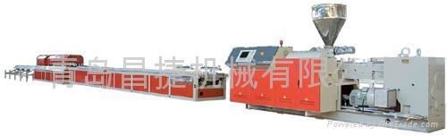 供應木塑型材生產線 1
