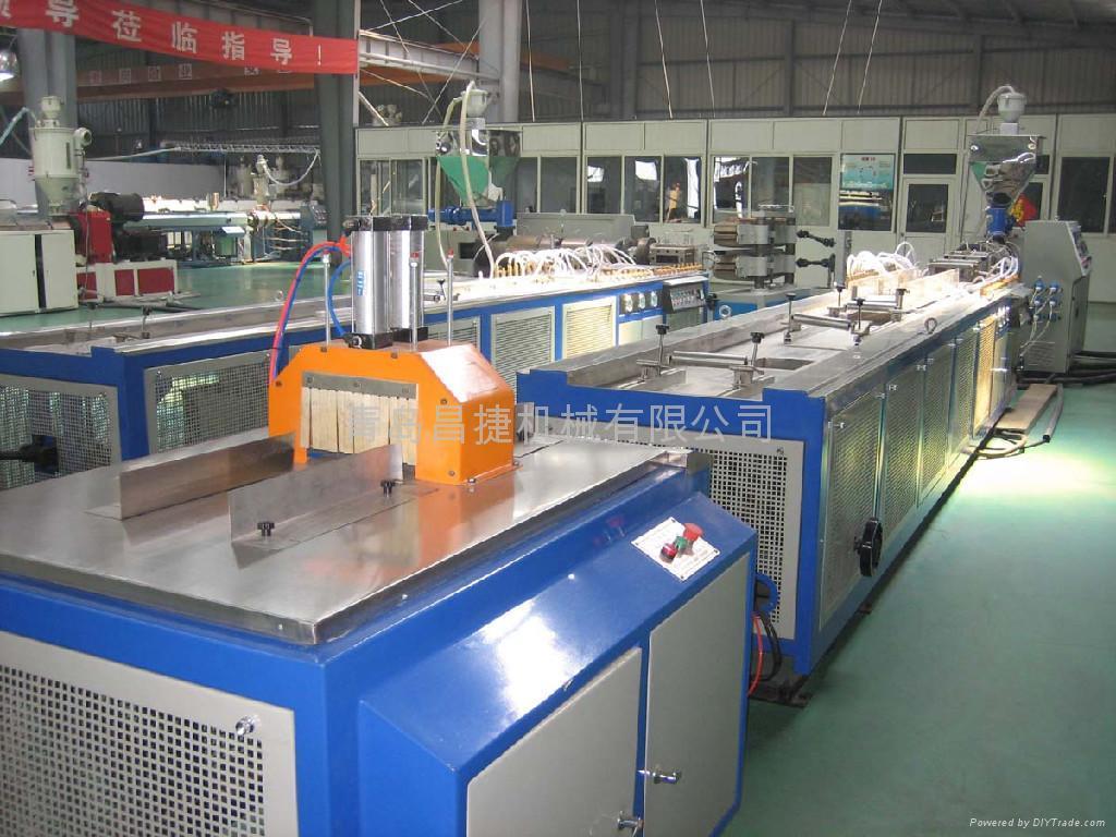 供應木塑型材生產線 4