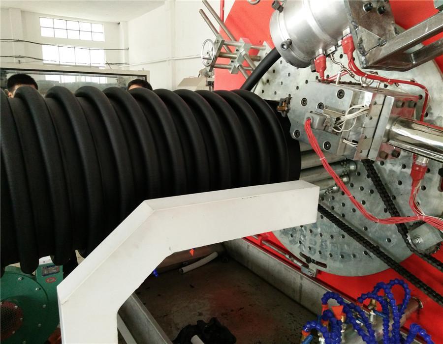 PE連續式克拉管生產線 1