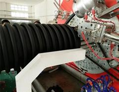 PE连续式克拉管生产线