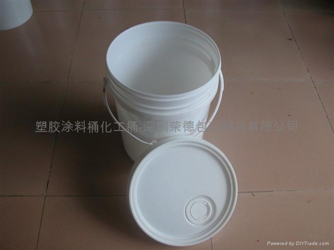 深圳塑料桶廠家生產20升機油桶 3