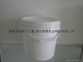 廣東塑料桶生產10升黃色塑料桶 5