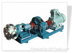 NCB系列不锈钢高粘度转子泵 2