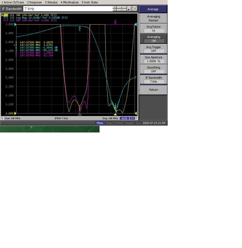 VHF  6 cavity  0.6Mhz  spacing  Duplexer   3