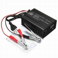 12V 2A 3.3A Lead Acid Battery Charger Maintainer Desulfator for Motorcycle Car