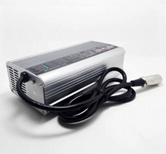 48V 5A Smart Battery Charger for Lithium-Ion LiFePO4 Battery, Max 54.6V 58.4V