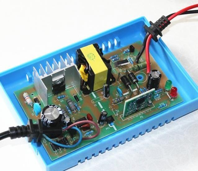 Full Automatic Intelligent 48V 24V Lead Acid Battery Charger 2