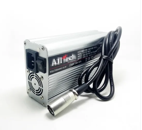 Lead Acid Household Appliance Electric Vehicles 48V 12ah Battery Charger 3