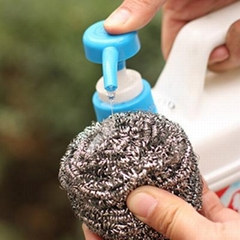 Kitchen Cleaning Stainless Steel Cleaning Ball Scourer Scrubber